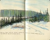From Iditarod Sketch book and inspiration for print.